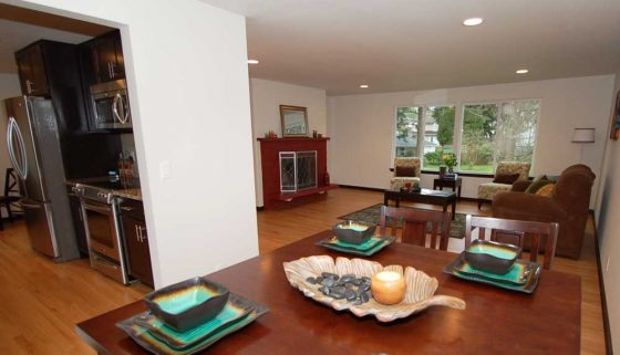 Edmonds Renovation Diningroom