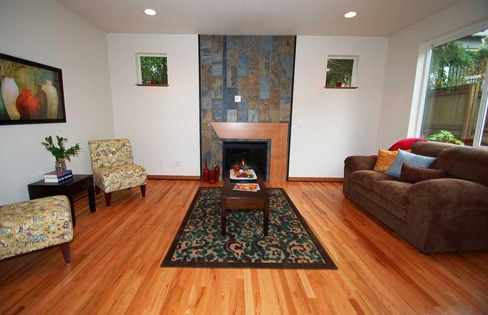 Shoreline Residential Livingroom - Scott Summa - Summa Homes Inc.
