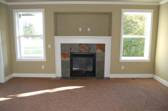 Fireplace Livingroom - Summa Homes