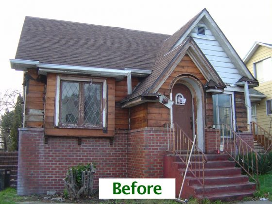 Maple Leaf-Renovation Before