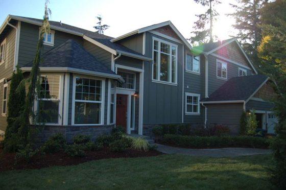 Outside Full House View - Summa Homes