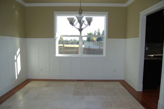 Tiled & Wood Floored Dining Room - Summa Homes